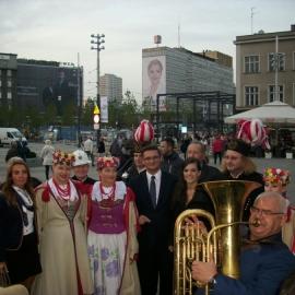 150 muzyków górniczych orkiestr dętych na 150-lecie Katowic foto_12