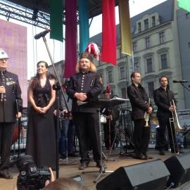 150 muzyków górniczych orkiestr dętych na 150-lecie Katowic foto_22