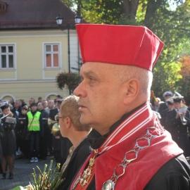 Bractwo Gwarków na pogrzebie Arcyksiężnej