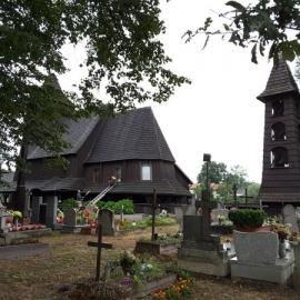 Góra Kościół św. Barbary z przełomu XVI w.