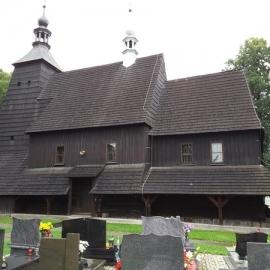 Grzawa kościół Męczeństwa św. Jana Chrzciciela z przełomu XVI i XVII w.