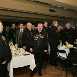 Gwarkowie na karczmie piwnej KWK Wujek - 11.12.2011r.
