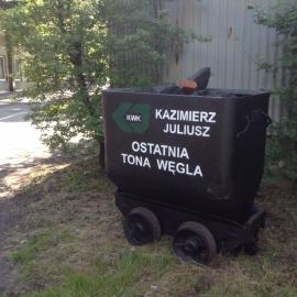 Kopalnia Kazimierz  Juliusz sp. z o. o w Likwidacji w Sosnowcu 2. 06. 2015r.