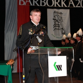 KWK Bielszowice, Barbórka 2012