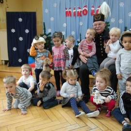Mikołaj w przedszkolu w Pleszewie foto_2