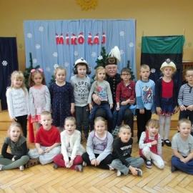 Mikołaj w przedszkolu w Pleszewie foto_7