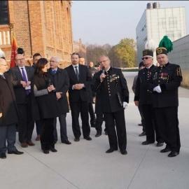 Odsłonięcie tablicy pamiątkowej KWK Katowice 30.10.2014 r. foto_11