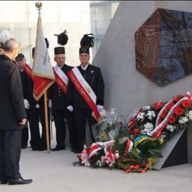 Odsłonięcie tablicy pamiątkowej KWK Katowice 30.10.2014 r. foto_14