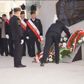 Odsłonięcie tablicy pamiątkowej KWK Katowice 30.10.2014 r. foto_16