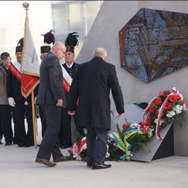 Odsłonięcie tablicy pamiątkowej KWK Katowice 30.10.2014 r. foto_17