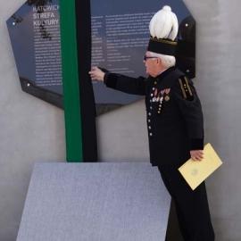 Odsłonięcie tablicy pamiątkowej KWK Katowice 30.10.2014 r.