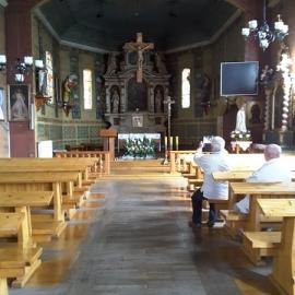 Pielgrzymowice Kościół św. Katarzyny z 1675r.