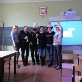 Spotkanie w dniu 4.12.2017 w ZSP Karmin