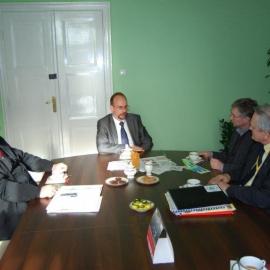 Spotkanie w Urzędzie Marszałkowskim - 3.02.2011r.