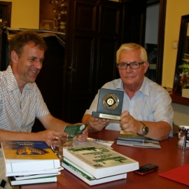 Spotkanie z dr. Stefanem  Kaiserem dyrektorem  Muzeum w Ratingen foto_5