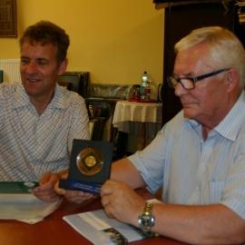 Spotkanie z dr. Stefanem  Kaiserem dyrektorem  Muzeum w Ratingen