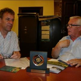 Spotkanie z dr. Stefanem  Kaiserem dyrektorem  Muzeum w Ratingen foto_8