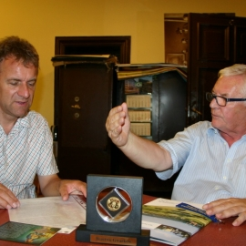 Spotkanie z dr. Stefanem  Kaiserem dyrektorem  Muzeum w Ratingen foto_9