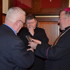 Spotkanie z Ks. Biskupem Marianem Buczkiem