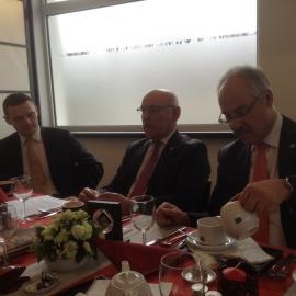 Spotkanie Zarządu Bractwa Gwarków z Burmistrzem Essen foto_4