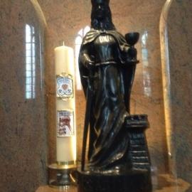 Świeca św. Barbary foto_2