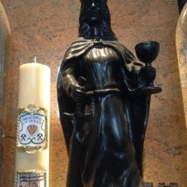 Świeca św. Barbary