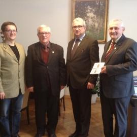 Wizyta Członków BG w urzędzie Marszałkowskim 29.10.2015