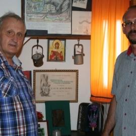 Wizyta J. Gorzelika w Izbie Tradycji