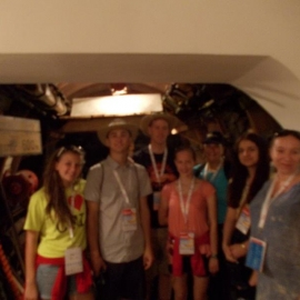 Wizyta młodzieży w Izbie Tradycji foto_3