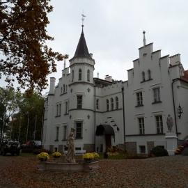 Zwiedzanie Pałacu w Sulislawie w dniu 26.10.2016r.
