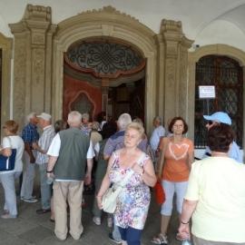 Zwiedzanie zamku w Książu foto_1