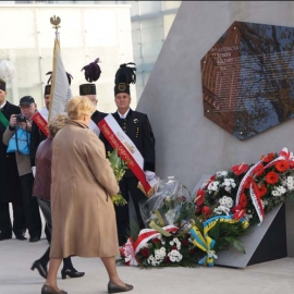 Odsłonięcie tablicy pamiątkowej KWK Katowice 30.10.2014 r. foto_15