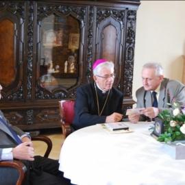 Spotkanie Zespołu Redakcyjnego BG z Arcybiskupem W.Skworcem w dniu 27.08.2013r.